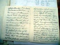Image of Andrews Oct 19 1908 correspondence - 2