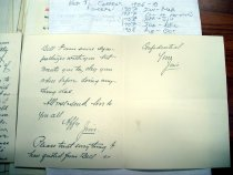 Image of Andrews Oct 19 1908 correspondence - 5
