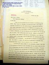 Image of Andrews Oct 26 1908 correspondence - 1