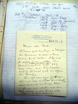 Image of Andrews Oct 28 1908 correspondence - 2