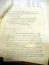 Image of Andrews Nov 08 1908 correspondence - 3