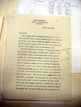 Image of Andrews Nov 20 1908 correspondence - 1