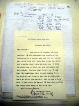 Image of Andrews Nov 20 1908 correspondence - 3