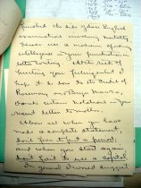 Image of Andrews Feb 6 1909 correspondence - 2