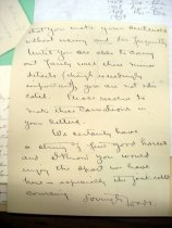 Image of Andrews Feb 6 1909 correspondence - 3