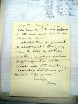 Image of Andrews May 26 1909 correspondence - 3