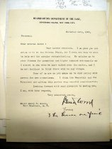 Image of Andrews Nov 24 1909 correspondence - 1