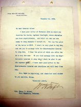 Image of Andrews Nov 24 1909 correspondence - 2