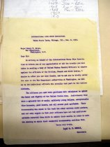 Image of Andrews Dec 8 1910 correspondence