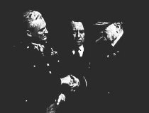 Image of Frank Andrews Churchill handshake