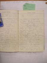 Image of Andrews Aug 4 1914 diary