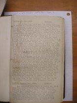 Image of Andrews Jan 1 1922 diary