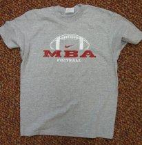 Image of MBA 2007 Football Championship T-shirt - 2007