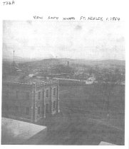 Image of Photograph of MBA (View South Toward Ft. Negley, c. 1864)