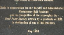 Image of Introductory Plaque - May 1998