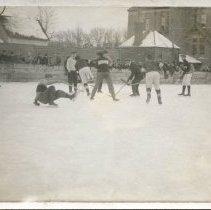 Image of P2003.41.12 - WBHS Hockey Team vs. Shamrocks