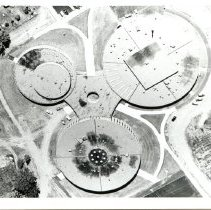 Image of P2004.77.080 - Aerial view of WB High School