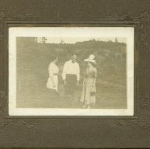 Image of P2011.002.127 - People/Stella Lyons Dillon and Walter Dillon and Unidentified