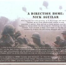 Image of A Direction Home : Story of Nick Aguilar - Summers, Robert G.