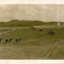 Image of Review of Entire Panama Department by Major General Preston Brown, Albrook Field, Canal Zone, Feb 24, 1933 - Photograph
