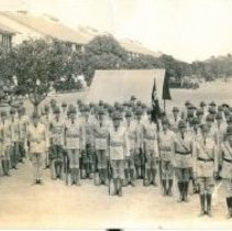 Image of First Battalion, 65th Coast Artillery, Fort Amador, Canal Zone, c. 1932 - Photograph