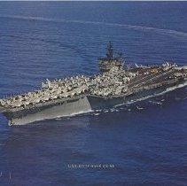 Image of USS Kitty Hawk (CV-63) Color Photograph - Photograph