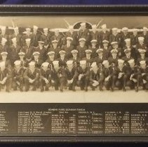 Image of Squadron Photo of Bombing Plane Squadron Three-B (VB-3B) - Print, Photographic
