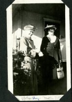 Image of Mother Shay and Mattie Poole.