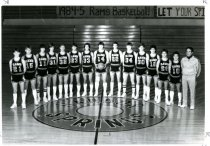 Image of Harbor Springs basketball team.