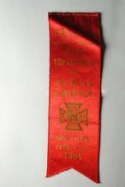 Image of Delegate Ribbon for the Department of Michigan WRC Convention.