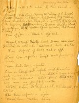 Image of Minutes for the Janaur 26, 1920 meeting of the HS Chamber of Commerce