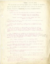Image of Minutes for the Friday, June 27, 1919 meeting of the executive board
