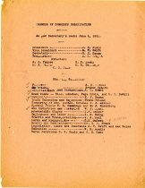 Image of Minutes for the June, 1920 meeting of the Executive Board