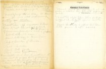 Image of Minutes for the June 23, 1920 meeting of the HS Chamber of Commerce