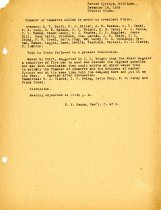 Image of Minutes for the December 18, 1919 meeting of the HS Chamber of Commerce