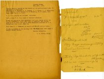 Image of Minutes for the February 26, 1921 special meeting