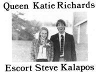 Image of 1982 Homecoming Queen - Katie Richards.