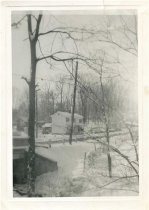 Image of Folder 59 - Rachel Fauss home in winter, Sand Brook