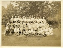 Image of Folder 63 - Group photo, outdoors, 1925