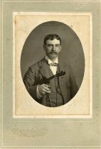 Image of Folder 18 - Charles J. Bearder w/ violin, formal portrait