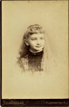 Image of Folder 23 - Ida Fink, head & shoulders, formal portrait, ca. 1893