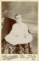 Image of Folder 5 - Samuel Leroy Hunt, age 3, formal portrait, ca. 1899