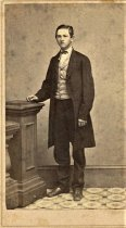 Image of Folder 8 - Young man standing, formal portrait