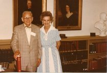 Image of Folder 226; Catharine and Guy Klett at an event; 06/26/1977