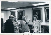 Image of Folder 228; Guy and Catharine Klett with an unknown man and woman, 07/1977