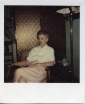 Image of Folder 249:  Catharine Klett in an armchair, n.d.
