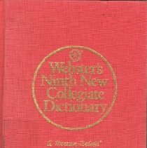 Image of Book - Webster's Ninth New Collegiate Dictionary