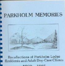 Image of Book - Parkholm Memories