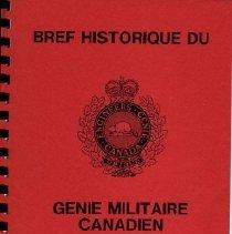 Image of Book - Bref Historique du Genie Militaire Canadien