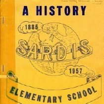 Image of Book - A History of Sardis Elementary School